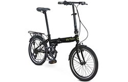 "Durban Bay Up Speed Black w/20"" Wheels Folding Bike"
