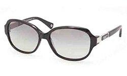 Coach Women's Sunglasses - Annette/Frame - Black/Polarized Grey Gradient