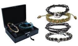 Rave Men's Mystery Deal Bracelets Pack Of 9