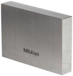 """Mitutoyo Steel Rectangular Gage Block, ASME Grade 0, 0.315"""" Length"""