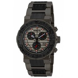 Invicta Men's 16865 Ocean Reef Quartz Chronograph Watch - Black/Grey