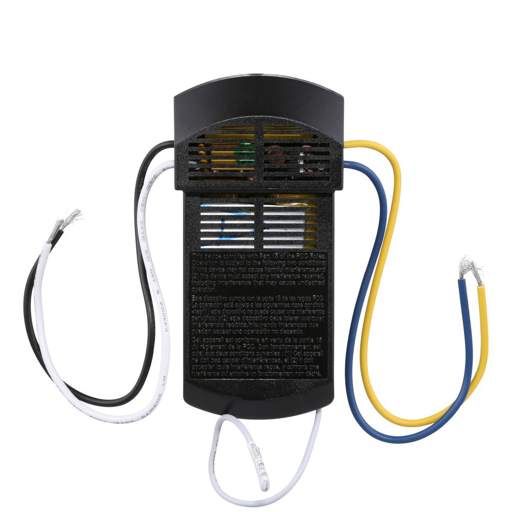 Hampton Bay Universal 3 Speed Ceiling Fan Control - White (99110 ...