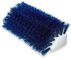 Hi-Lo 10 in. Blue Polypropylene Scrub Brush (Case of 12