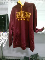 NCAA Men's Arizona State Sundevils Hooded Sweatshirt - Red - Size: 2XL