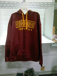 NCAA Arizona State Sundevils Hooded Sweatshirt - Red - Size: XL