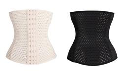 Women's Waist Trainer Corset - Black - Size: XL