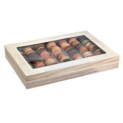 PacknWood 210BBOXATLASF 14.96 x 10.79 x 2.17 In. Atlas 1-1 Lunch Box & Window Lid Pack Of 16