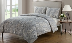 Palila 3 Piece Duvet Set: Full/ Queen