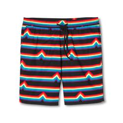 Mossimo Men's Pride Woven Shorts - Rainbow Stripe - Size: Small