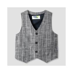 Genuine Kids by OshKosh Boys' Fashion Vest - Charcoal Stripe - Size: 4t