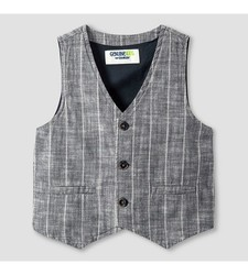 OshKosh Toddler Boy's Fashion Vest - Charcoal - Size: 2T