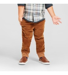 Oshkosh Toddler Boy's Fashion Pant - Breadcrust Brown - Size: 18M