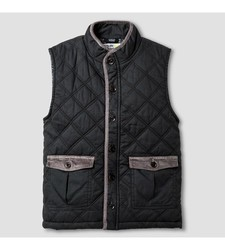 OshKosh Toddler Boy's Fashion Vest - Charcoal Leaf - Size: Large