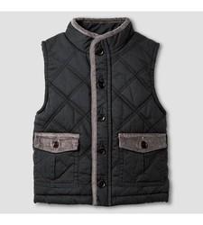 OshKosh Baby Boy's Fashion Vest - Charcoal Leaf - Medium