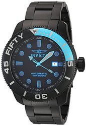 Invicta Men's TI-22 Black Titanium Bracelet & Case Automatic Analog Watch 20517
