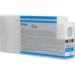 Epson T6422 Ultrachrome HDR Ink Cartridge for Stylus Pro 7900/9900, 150 ml (Cyan)