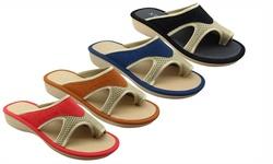 Ny Vip Comfort Sandal: Black/size 9