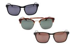 Cole Haan Sunglasses: Black Laminate