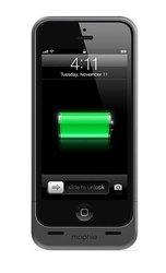 Mophie Juice Pack Helium Case for iPhone 5/5s Battery Case - Dark Metallic