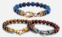West Coast Men's Spiritual Wellness & Healing Stone Bracelets