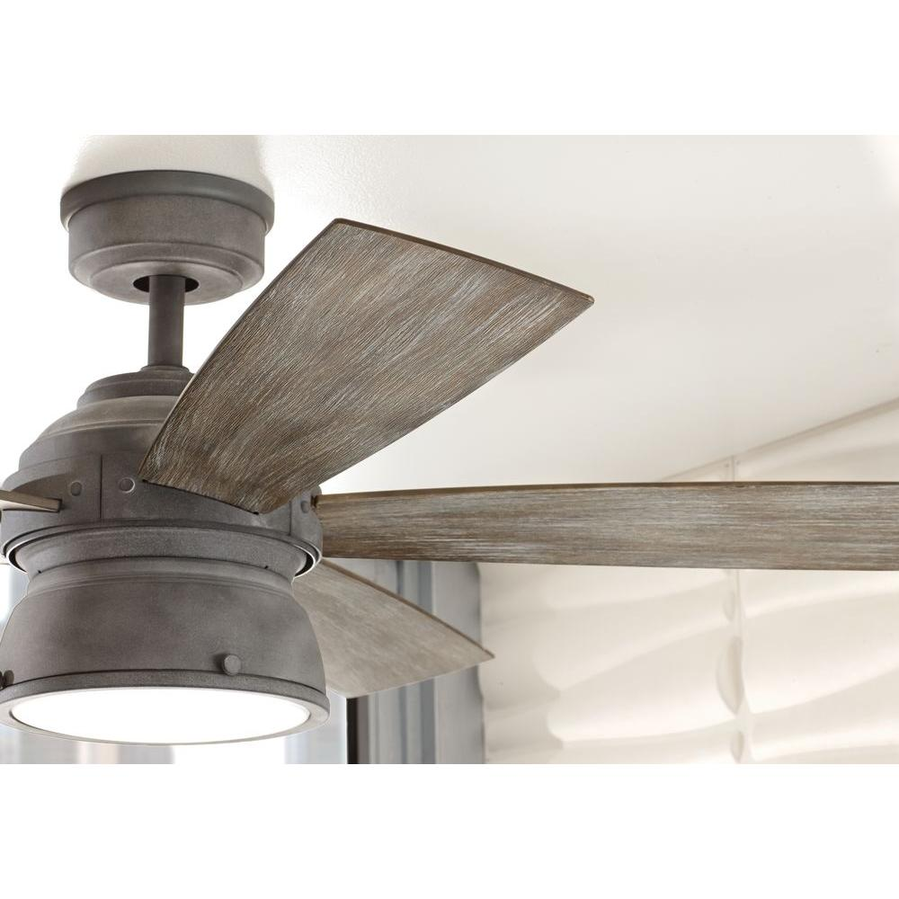 weathered wood ceiling fan aged wood hdc 89764 52