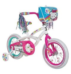 "Hello Kitty 14"" Bicycle for 3-9 Years Girls"