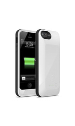 Belkin Grip Power Battery Case for iPhone 5 - White (F8W292TTC01)