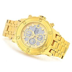 Invicta Men's Subaqua Swiss A07 Meteorite Dial Bracelet Watch - Gold