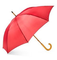 ShedRain Black Polka Dot Wood Stick Umbrellas - Caribbean Blue