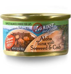 Against The Grain Aloha Tuna with Seafood & Crab Canned Cat Food - 2.8 oz