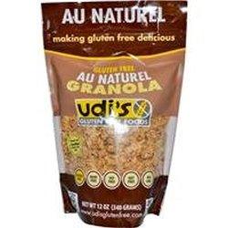 Udi's Gluten Free Granola Au Naturel 12 oz
