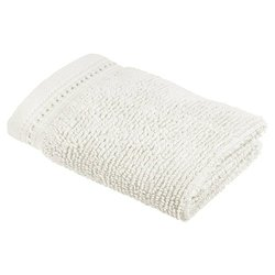 Crowning Touch by Welspun ECCT-TW-WH-06 Cotton Wash Cloth, 13 by 13-Inch, White