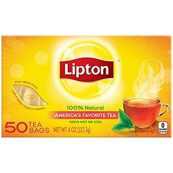 Lipton Tea Bags (Pack of 3.75 oz, 12, 48