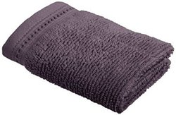 Crowning Touch by Welspun ECCT-TW-WH-03 Cotton Wash Cloth, 13 by 13-Inch, Eggplant