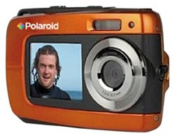Polaroid IF045-ORNG-BLIS-2 14.1MP Waterproof Digital Camera Orange