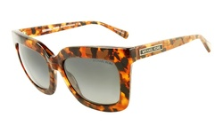 Michael Kors Women's MK2013 Tortoise / Gray Lens Sunglasses