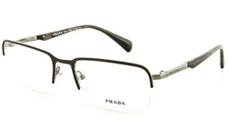 Prada Women's Eyeglasses Optical Frames - Matte Brown/Gunmetal