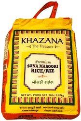 Khazana Sona Masoori Premium Rice/Riz - 320 Ounce