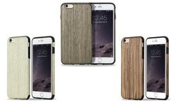 Rock Hybrid Slim Natural Wooden Bamboo Hard Case: White/iphone 6