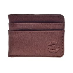 Hero Leather Wallet: Benjamin/brown