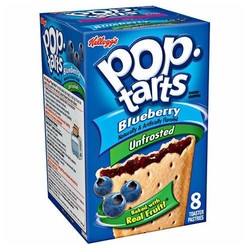 Kellogg's Pop-Tarts 8-Count Unfrosted Blueberry Toaster Pastries