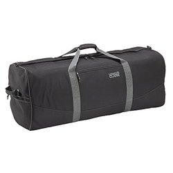 Lewis N. Clark Black 24-inch Cargo Duffel Bag