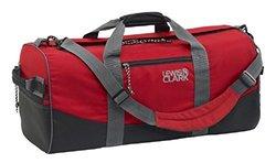 Lewis N Clark Uncharted Duffel Bag 900D/Zipper 93200RED Lewis N. Clark