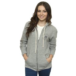 Junk Food NFL Women's Full Zip Sunday Hoodie - Gray - Size: X-Large