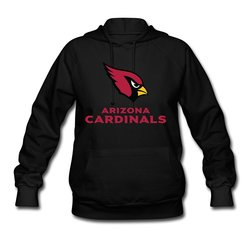 Antigua NFL Women's Arizona Cardinals Sunday Hoody - Black - Size: Medium