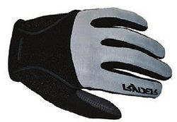 Ryder Contour Full Finger Glove - Silver - Size: Small