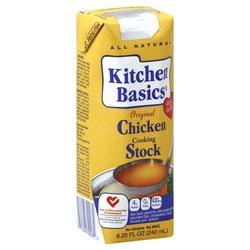 Kitchen Basics Cooking Stock Chicken - 8.25 fl oz carton