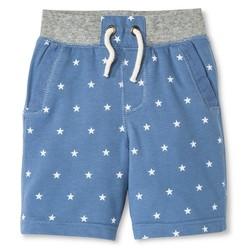 Genuine Kids Toddler Boys' Lounge Shorts - Brave Blue - Size: 3T