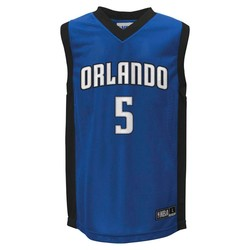 NBA Unisex Youth Orlando Magic Athletic Jerseys - Blue - L