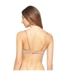 Women's Favorite Lightly Lined Demi Bra - Medium Brown - Size: 40C
